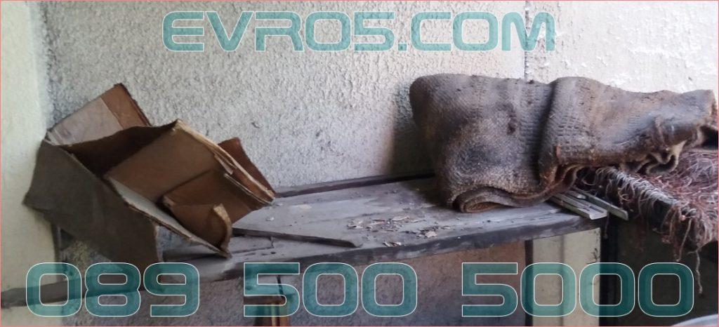 Почистване на тавани и мазета в регион София