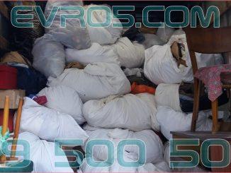 Извозване на отпадъци с камиони за боклук