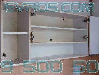 Изхвърляне на кухненски шкафове - разглобява и извозва