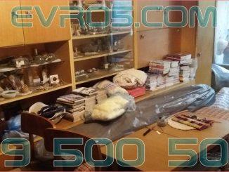 Цени за изхвърляне на покъщнина от апартамент