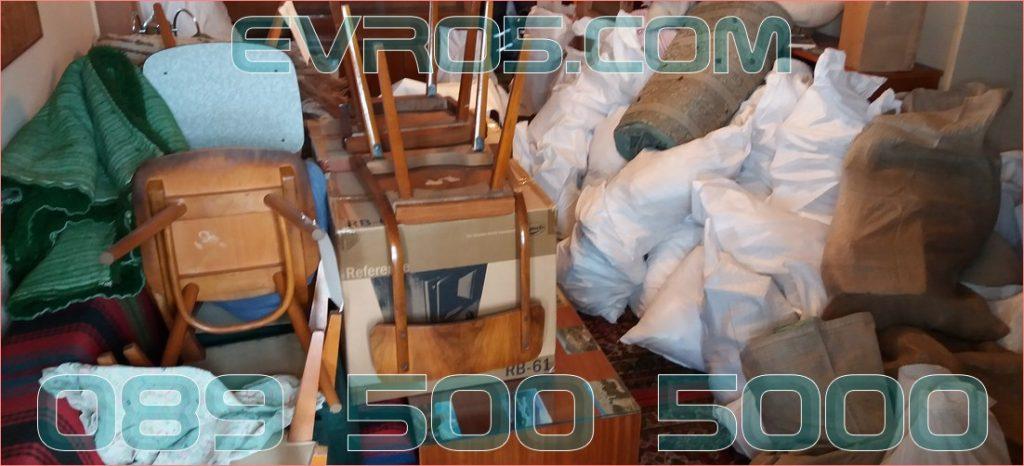 Фирма, която изхвърля старо обзавеждане и мебели в София